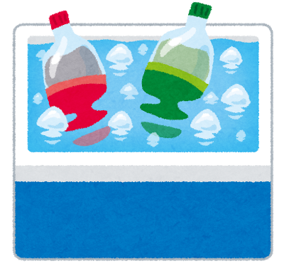 冷たいスポーツ飲料