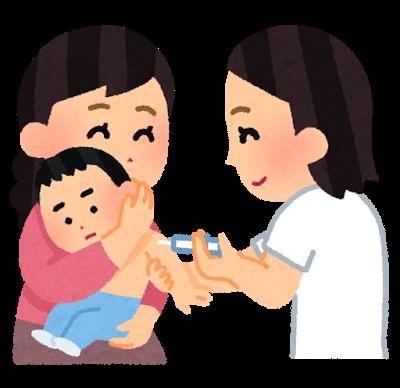 赤ちゃんのワクチン予防接種