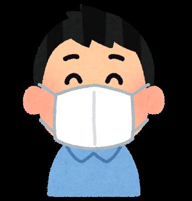 マスクでインフルエンザ対策