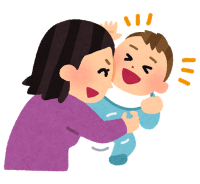 赤ちゃんが薬で元気になる
